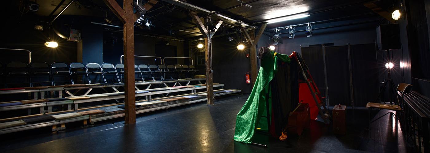 Theater Brotfabrik Bühne