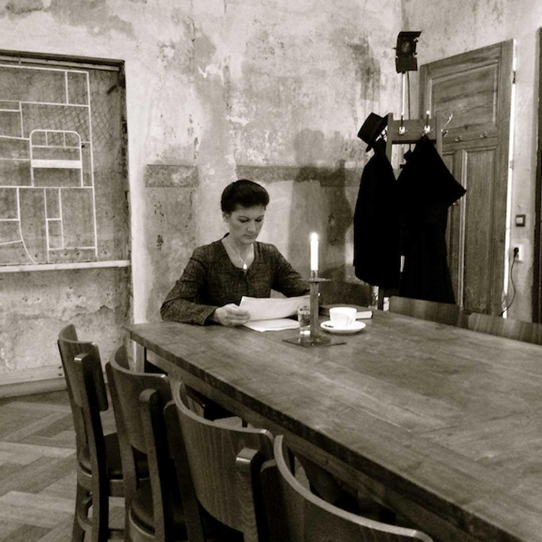 23.03. und 24.03. um 18.00 Uhr: Kurzfilme von Michael Blume zu Texten von Wolfgang Borchert DDR/D 1984-2018 - 90 Minuten - Kurzfilmprogramm - R: Michael Blume