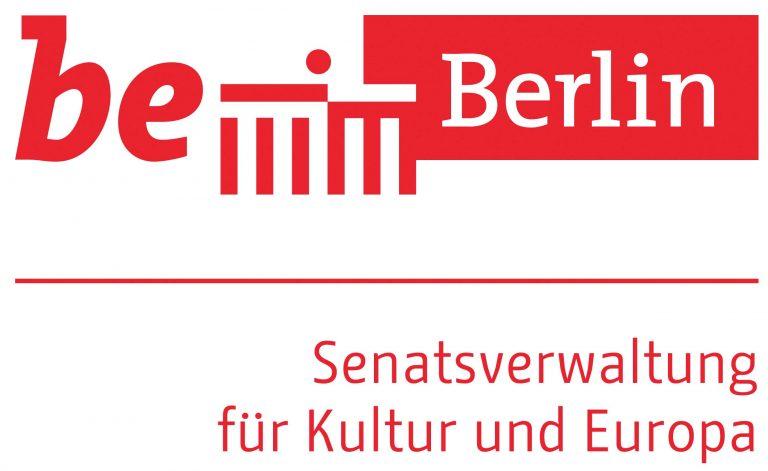 Logo senat für kultur und europa